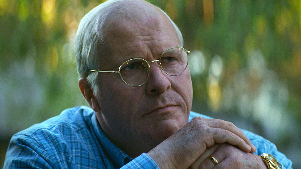 Christian Bale as Dick Cheney in Adam McKay's VICE, an Annapurna Pictures release. Credit : Annapurna Pictures 2018 © Annapurna Pictures, LLC. All Rights Reserved.
